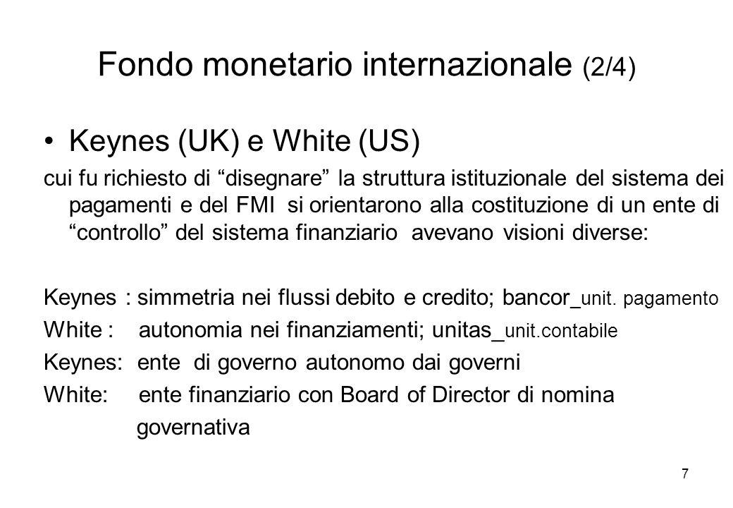 Fondo monetario internazionale (2/4)