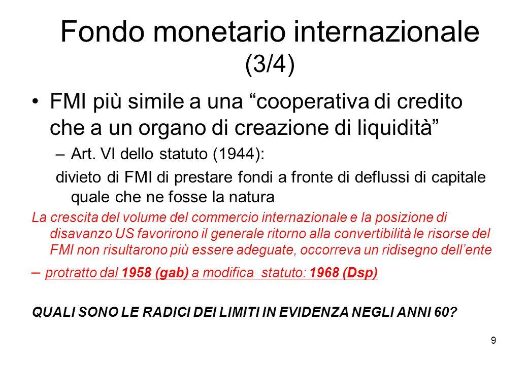 Fondo monetario internazionale (3/4)