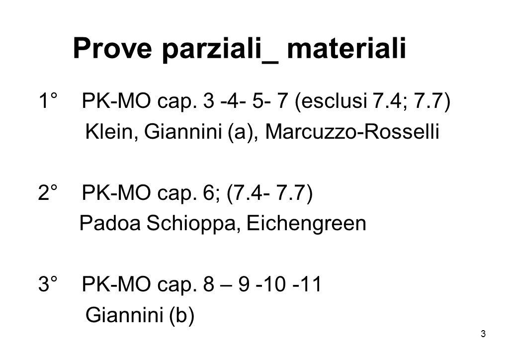 Prove parziali_ materiali