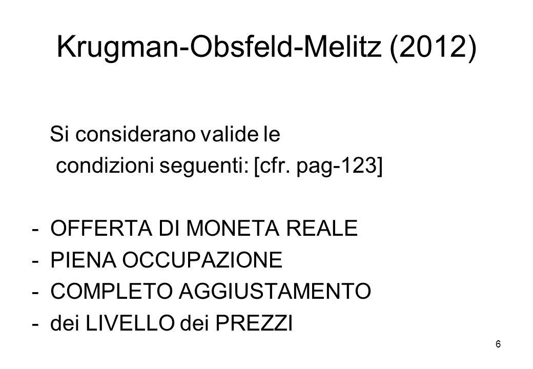 Krugman-Obsfeld-Melitz (2012)
