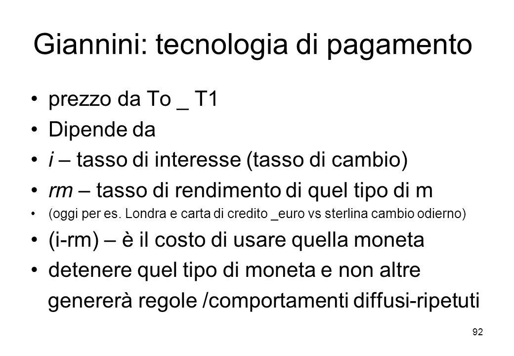 Giannini: tecnologia di pagamento