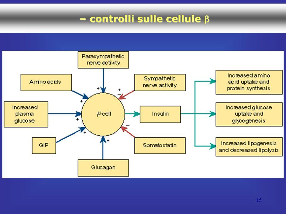 – controlli sulle cellule b