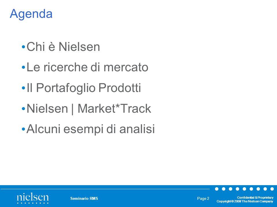 Il Portafoglio Prodotti Nielsen | Market*Track