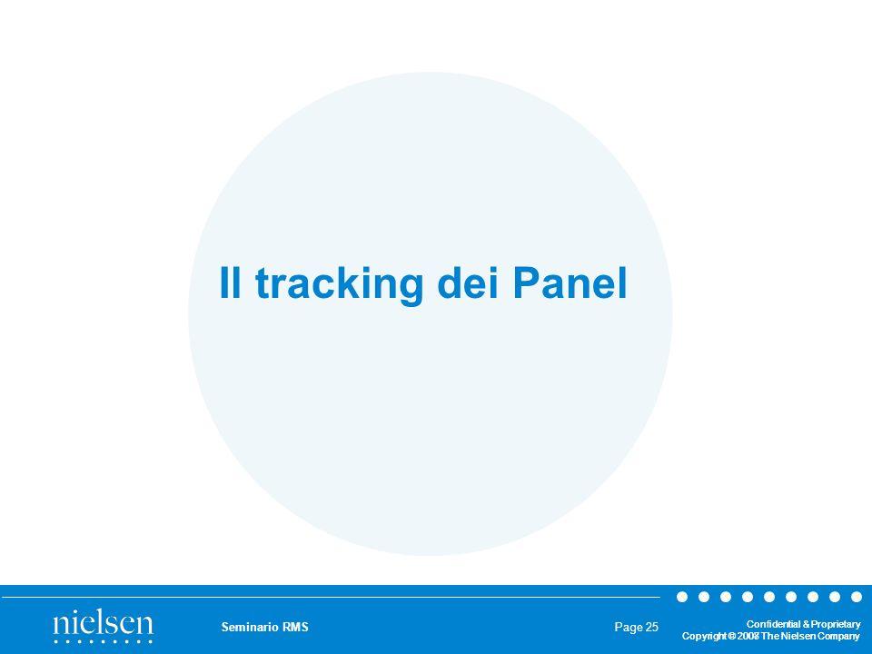 Il tracking dei Panel Seminario RMS