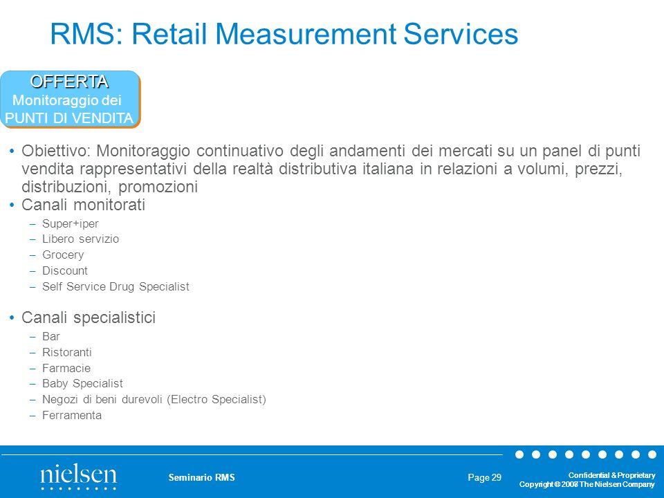 RMS: Retail Measurement Services