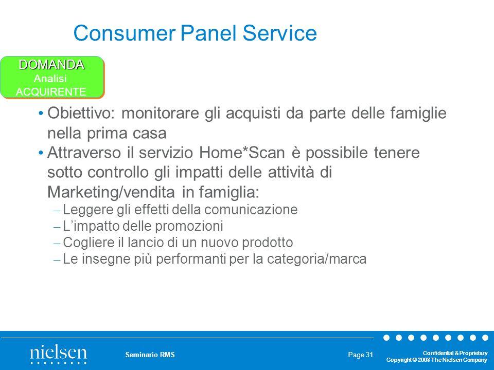 Consumer Panel Service
