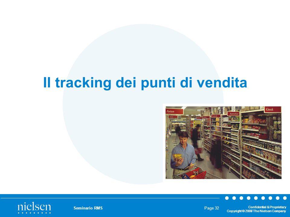 Il tracking dei punti di vendita
