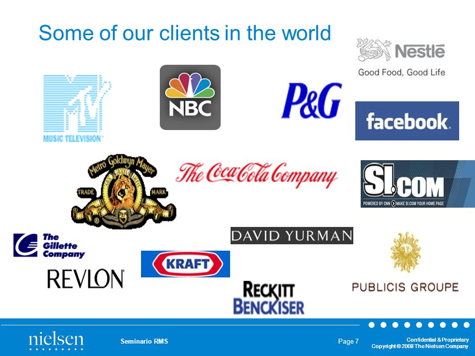 Some of our clients in the world