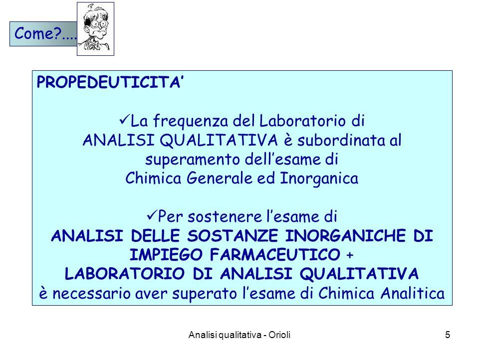 La frequenza del Laboratorio di