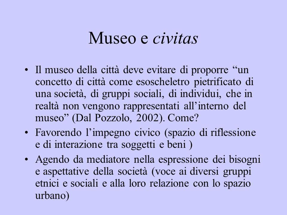 Museo e civitas