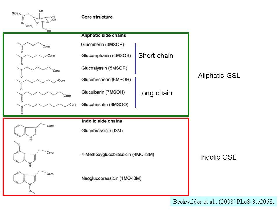 Beekwilder et al., (2008) PLoS 3:e2068.