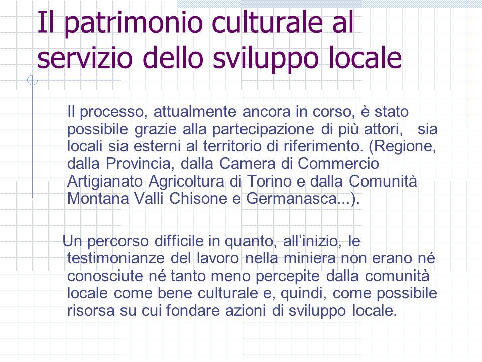 Il patrimonio culturale al servizio dello sviluppo locale