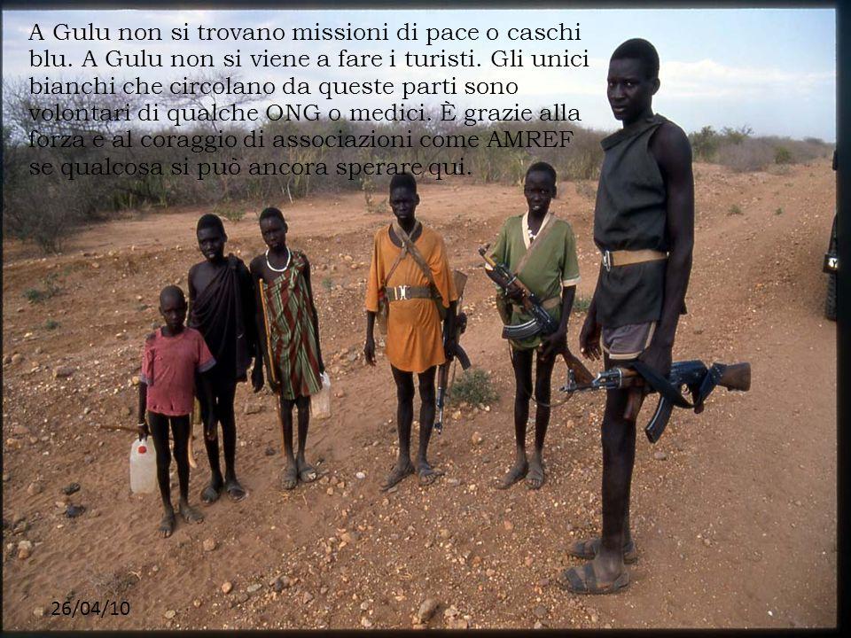 A Gulu non si trovano missioni di pace o caschi blu