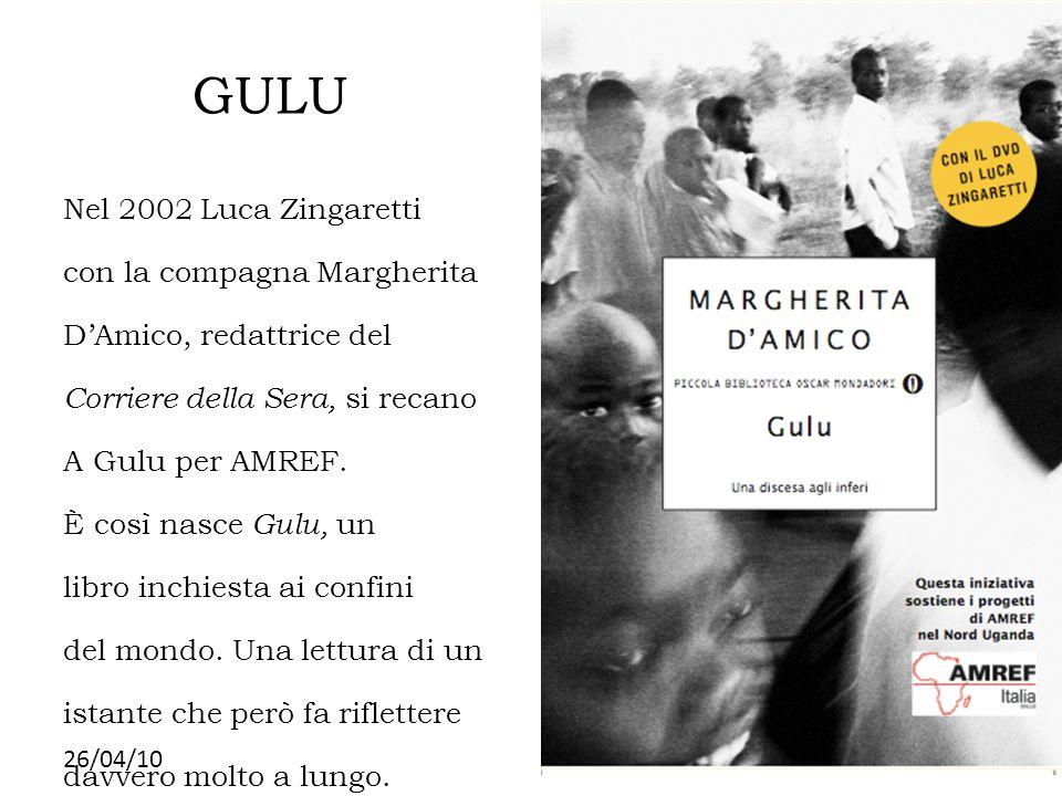 GULU Nel 2002 Luca Zingaretti con la compagna Margherita