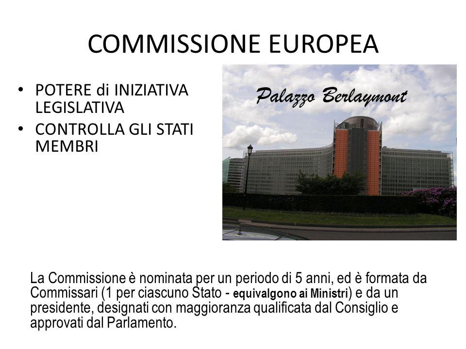 COMMISSIONE EUROPEA Palazzo Berlaymont
