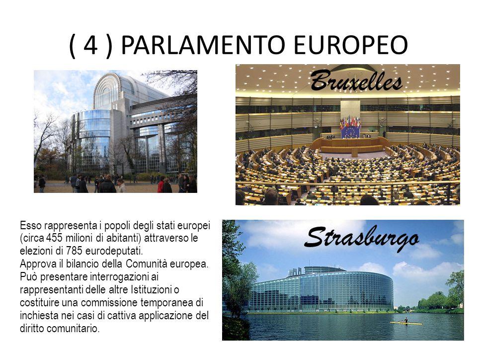 Bruxelles Strasburgo ( 4 ) PARLAMENTO EUROPEO