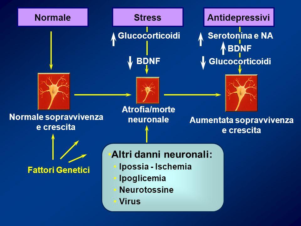 Altri danni neuronali: