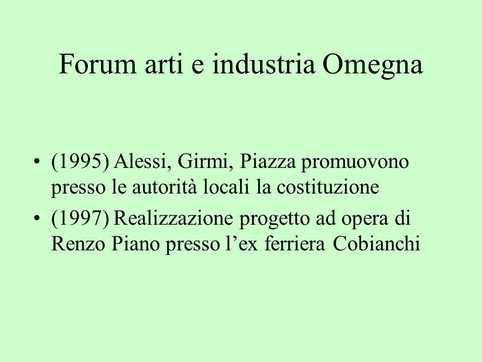 Forum arti e industria Omegna