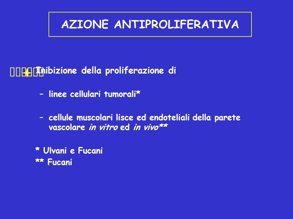 AZIONE ANTIPROLIFERATIVA