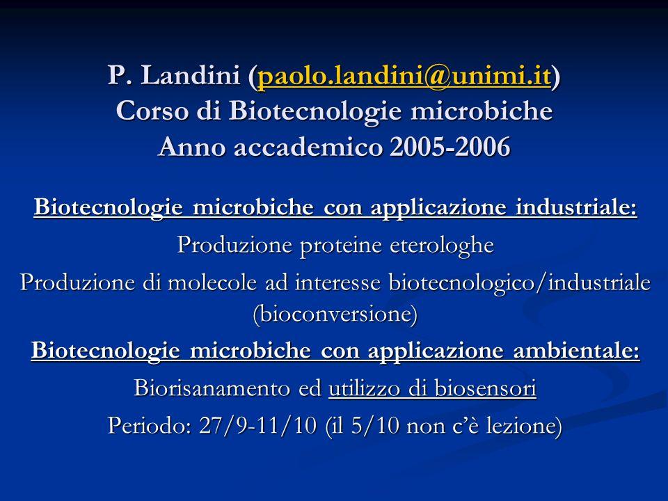 P. Landini (paolo. landini@unimi