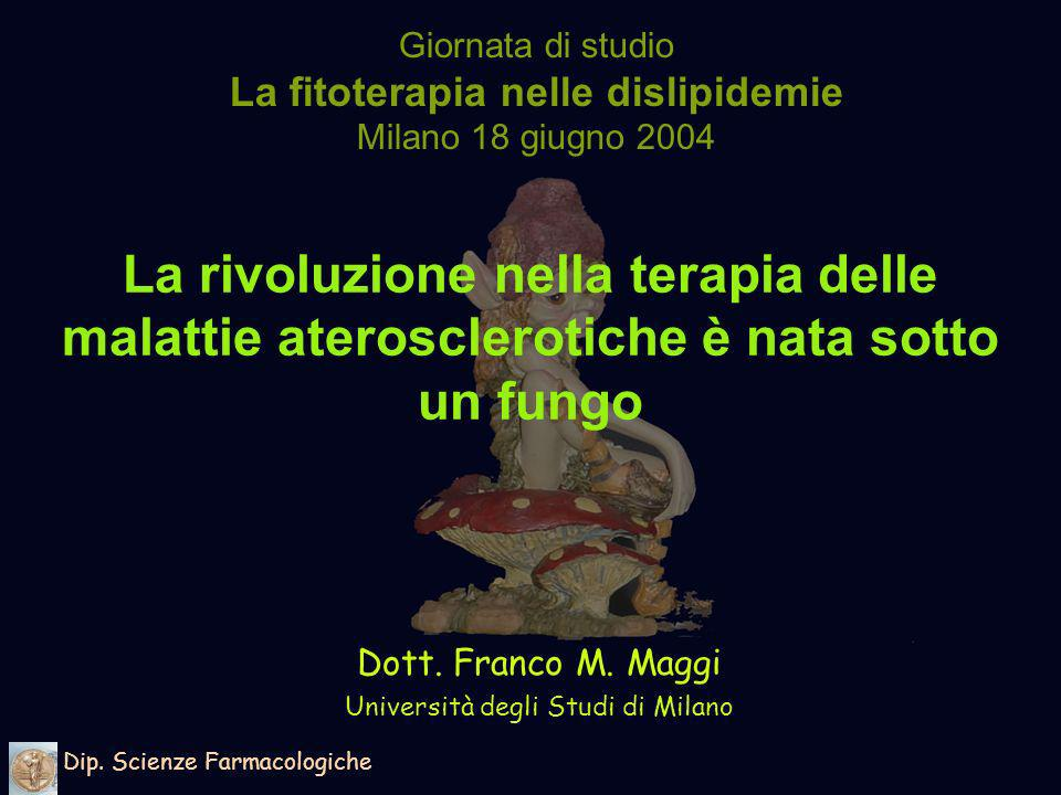 Dott. Franco M. Maggi Università degli Studi di Milano