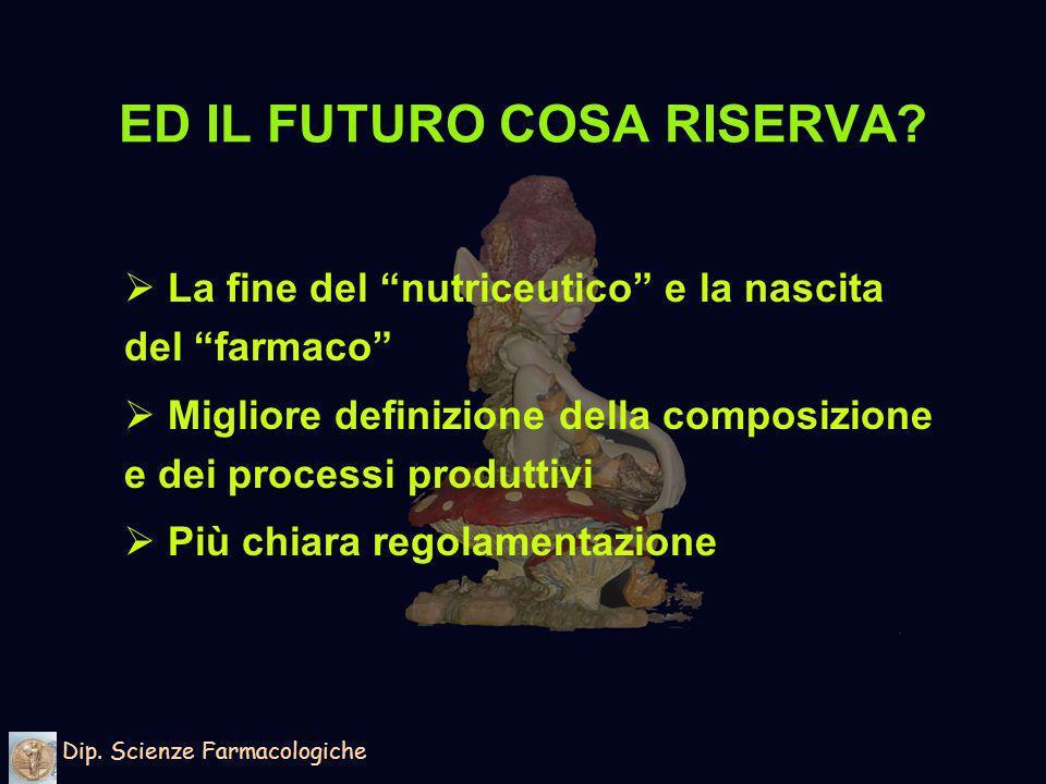 ED IL FUTURO COSA RISERVA