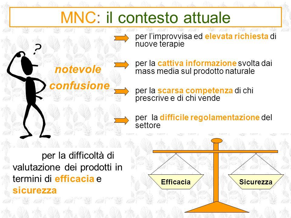 MNC: il contesto attuale