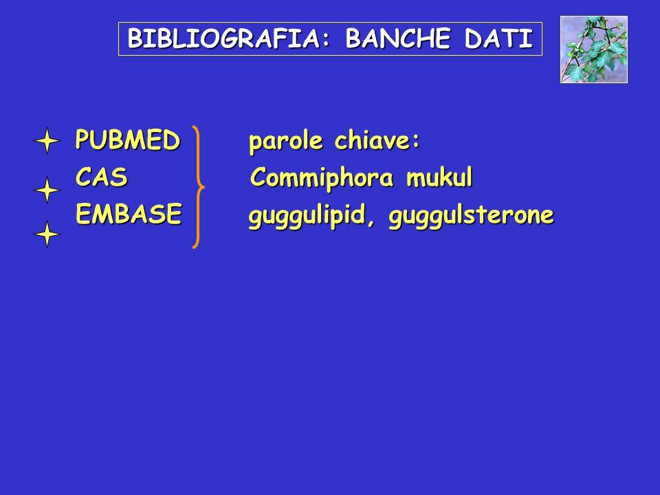BIBLIOGRAFIA: BANCHE DATI