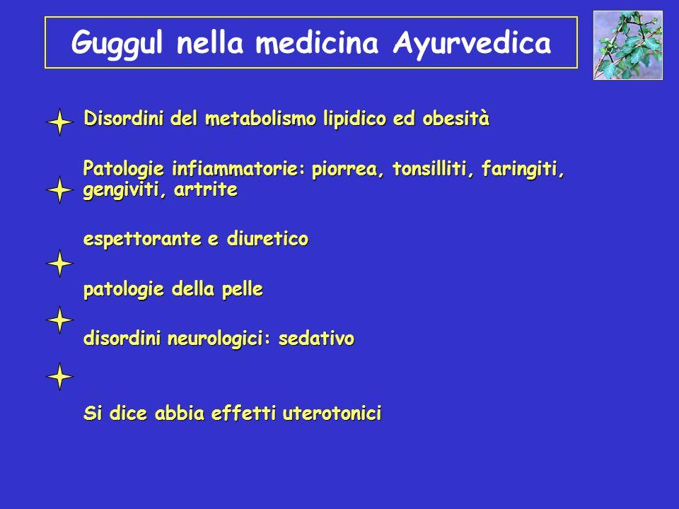 Guggul nella medicina Ayurvedica