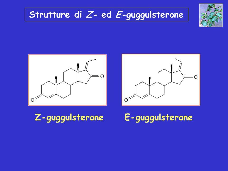 Strutture di Z- ed E-guggulsterone