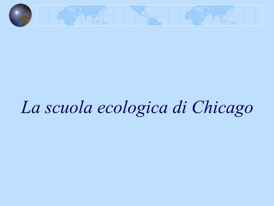 La scuola ecologica di Chicago