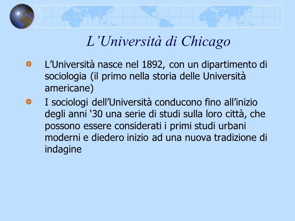 L'Università di Chicago
