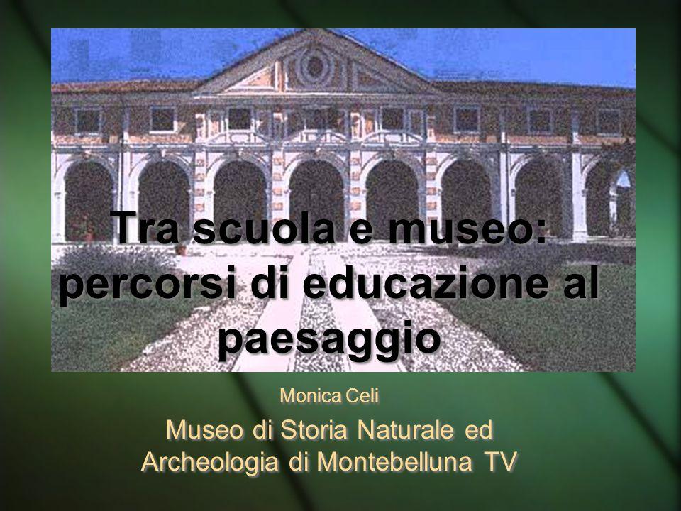 Tra scuola e museo: percorsi di educazione al paesaggio