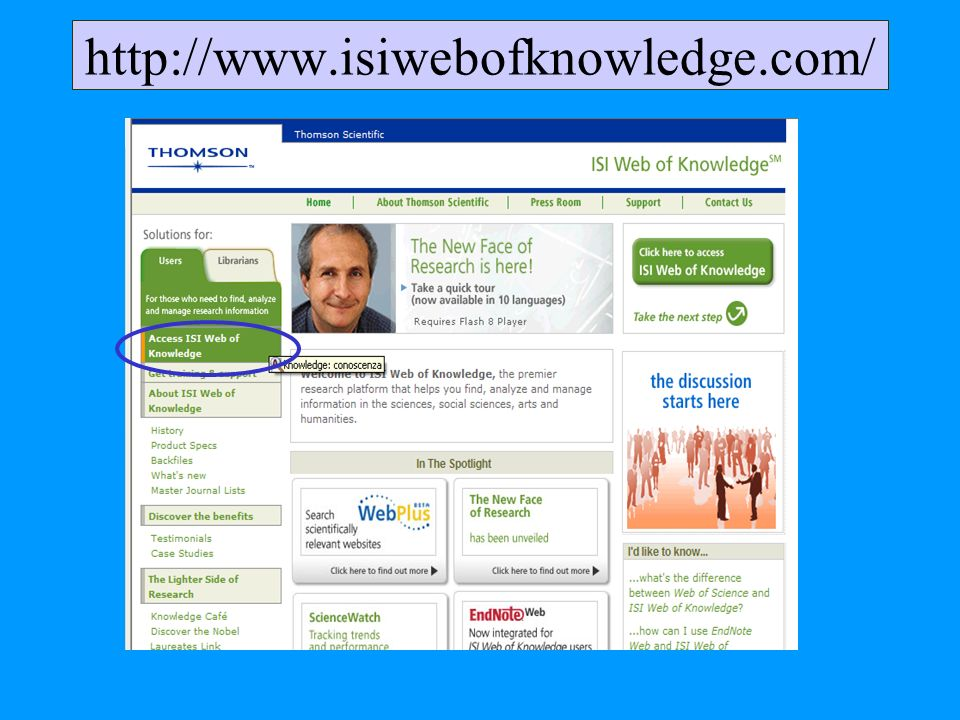 http://www.isiwebofknowledge.com/