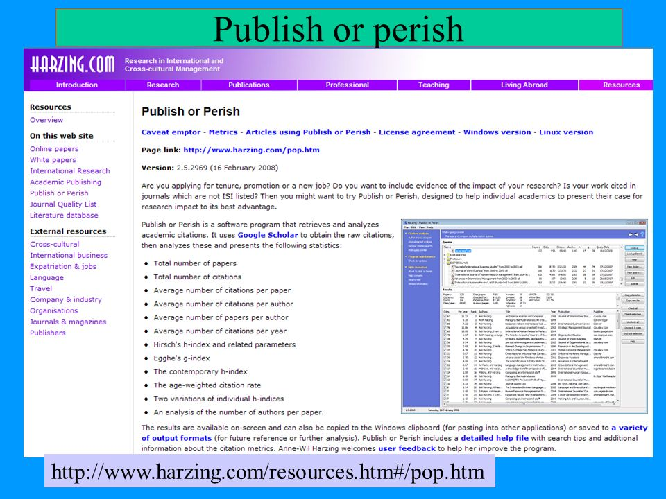 Publish or perish http://www.harzing.com/resources.htm#/pop.htm