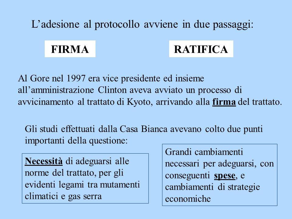 L'adesione al protocollo avviene in due passaggi: