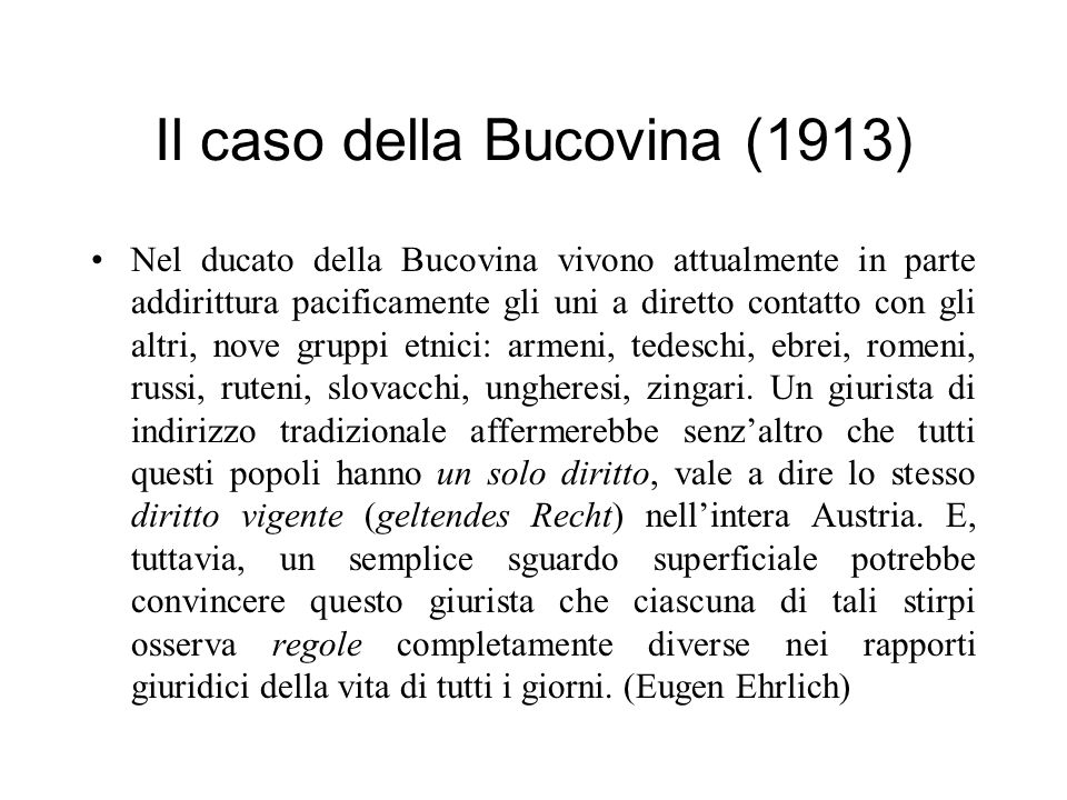 Il caso della Bucovina (1913)