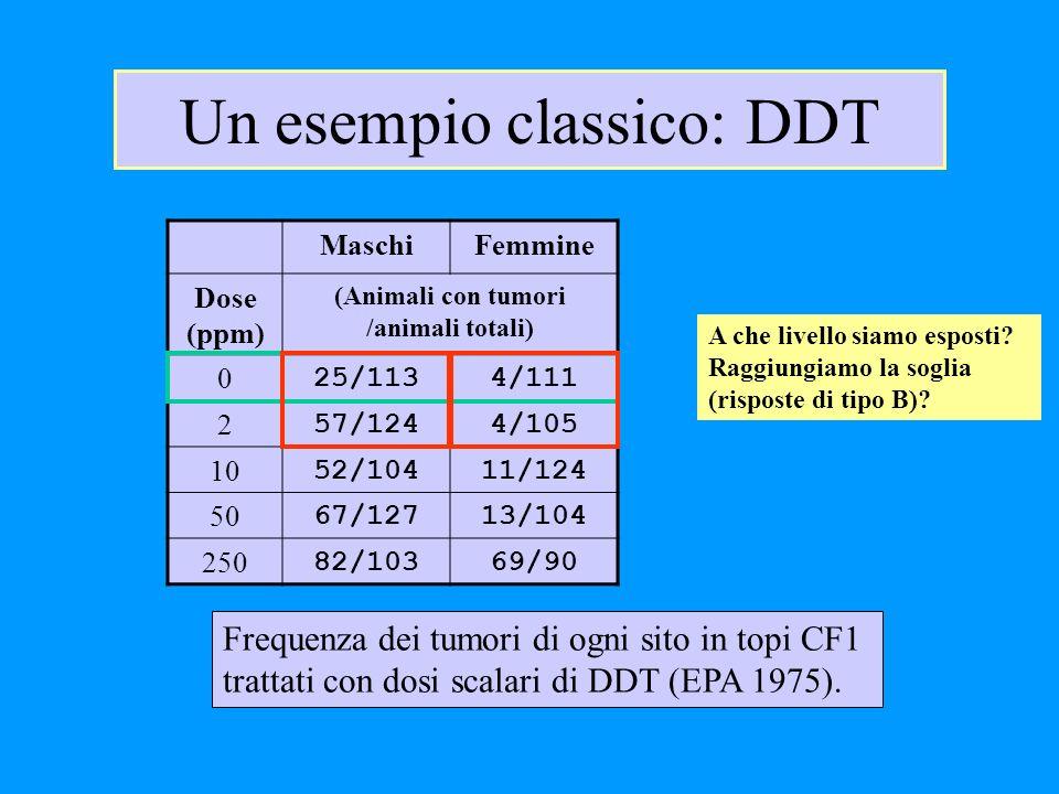 Un esempio classico: DDT