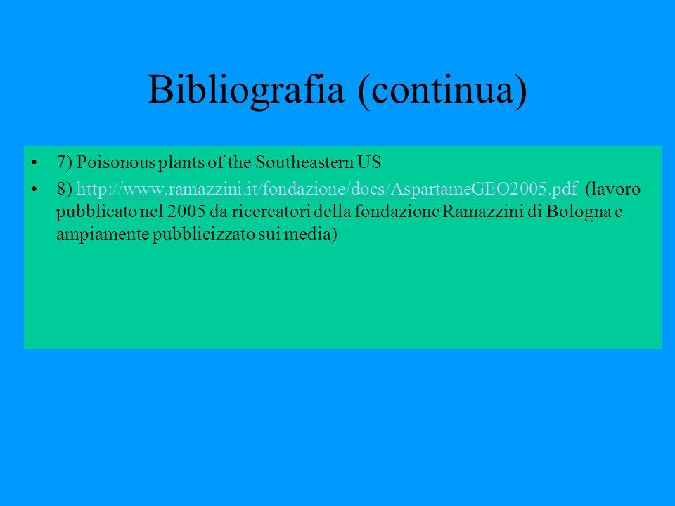 Bibliografia (continua)