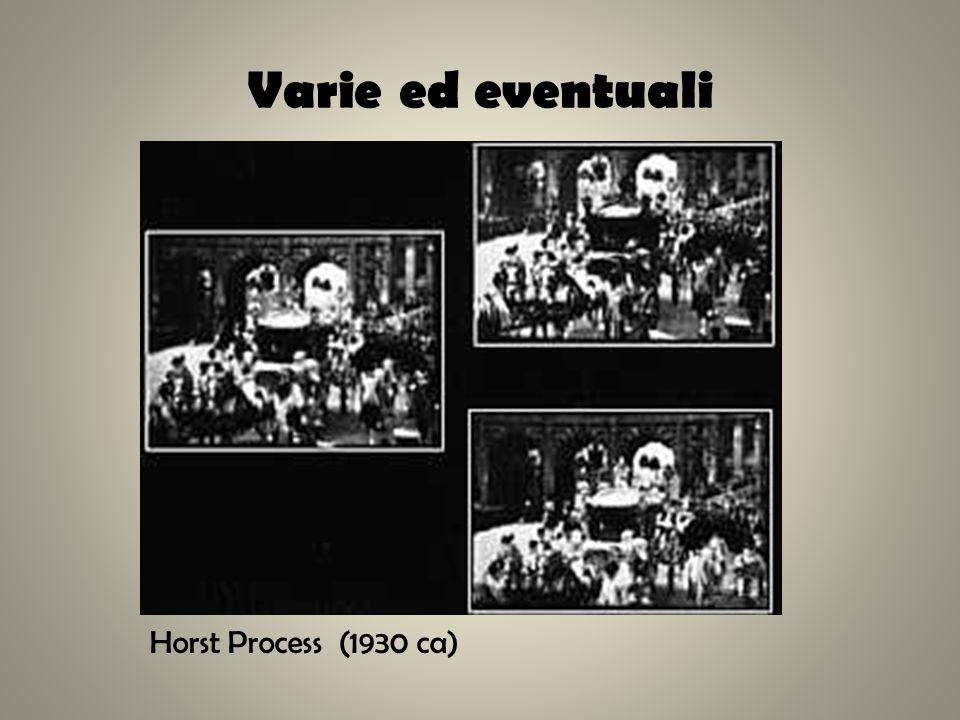 Varie ed eventuali Horst Process (1930 ca)