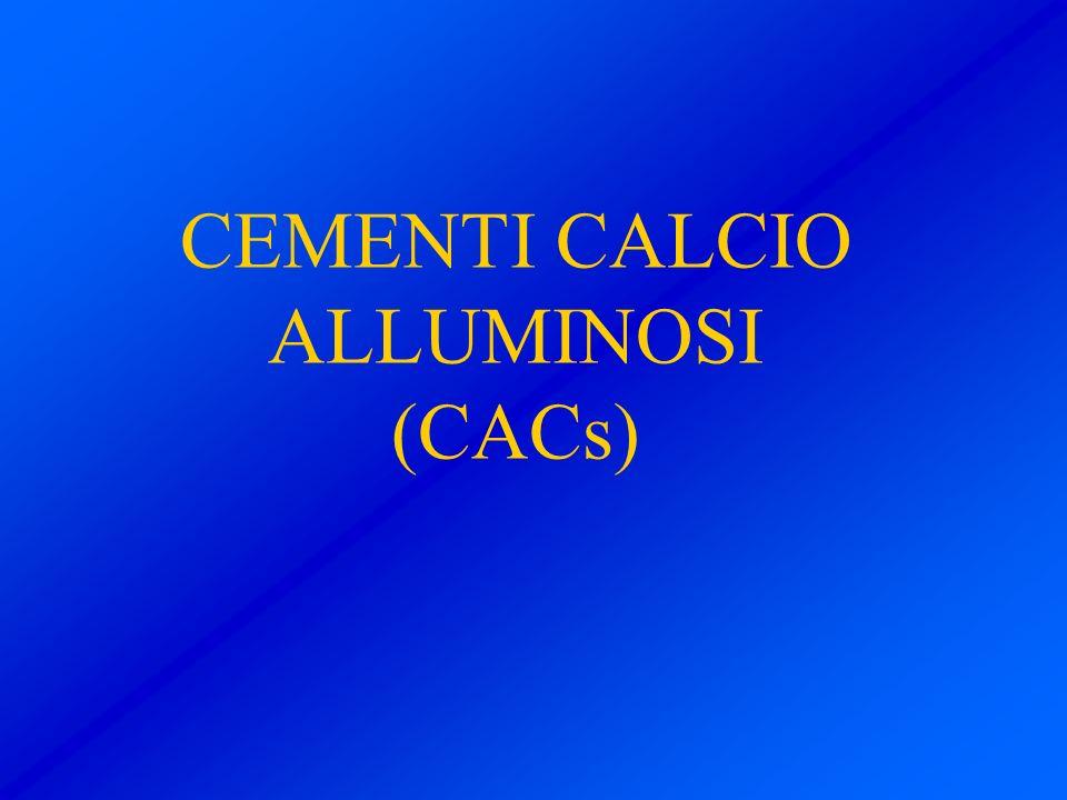 CEMENTI CALCIO ALLUMINOSI (CACs)