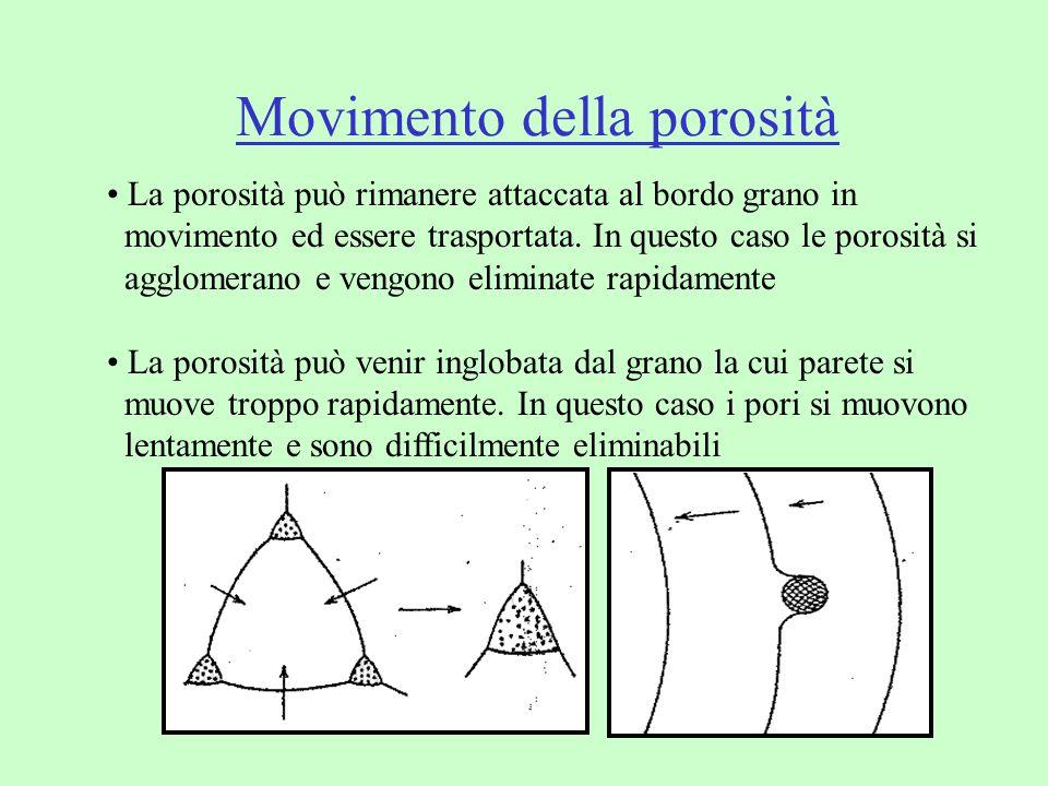 Movimento della porosità