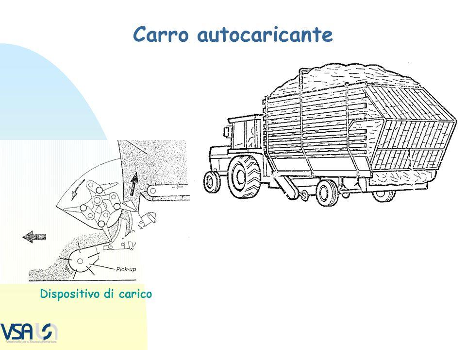 Carro autocaricante Dispositivo di carico