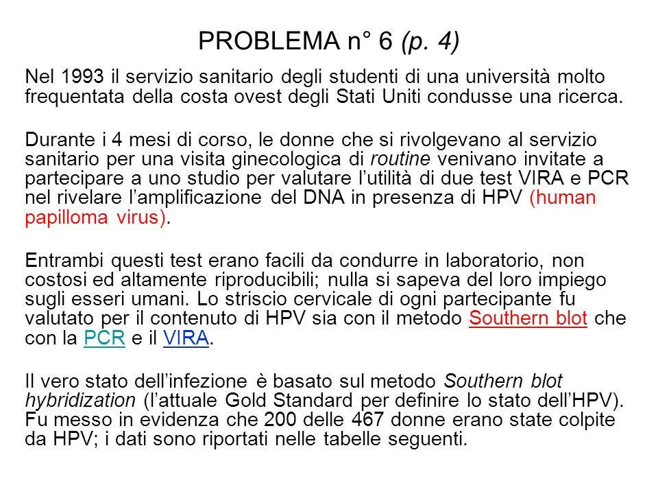 PROBLEMA n° 6 (p. 4)