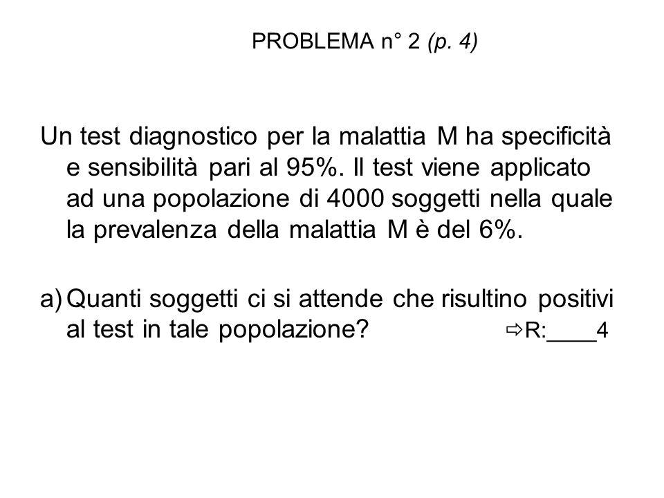 PROBLEMA n° 2 (p. 4)