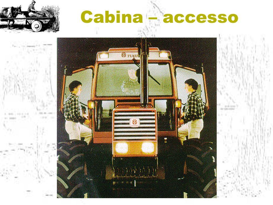 Cabina – accesso