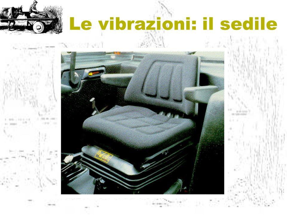 Le vibrazioni: il sedile