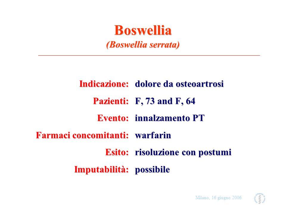 Boswellia (Boswellia serrata)