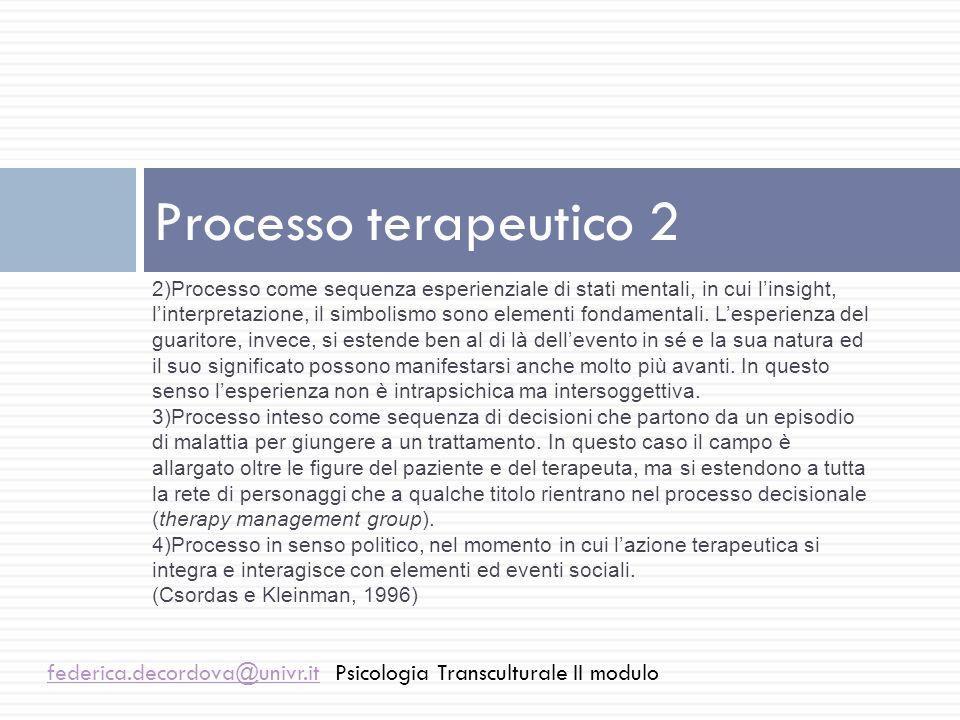Processo terapeutico 2