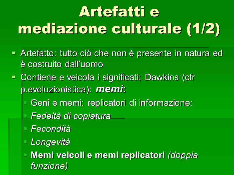 Artefatti e mediazione culturale (1/2)
